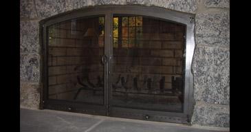 Fireplace Doors Wrought Iron
