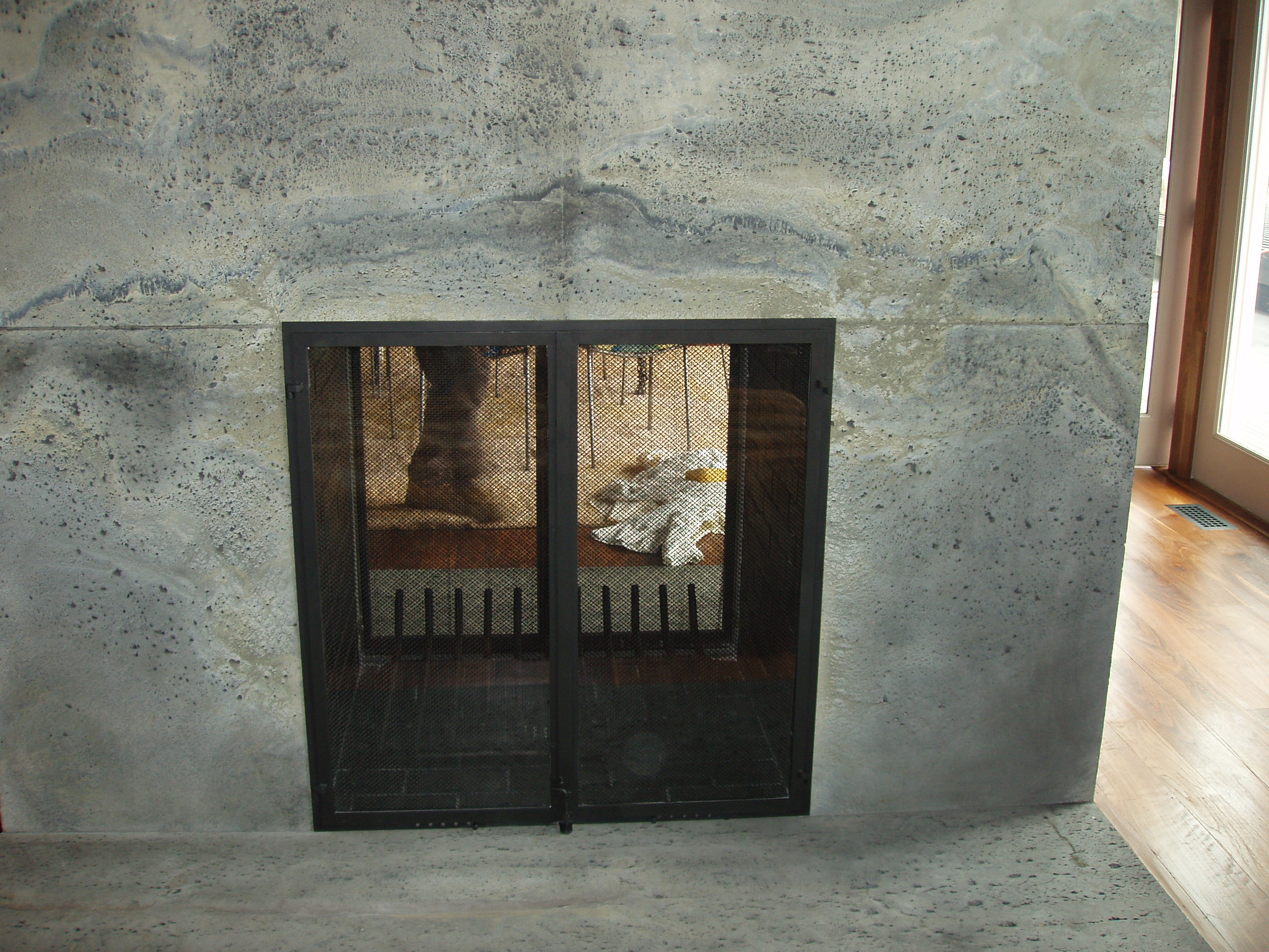 eurometalsmiths fireplace doors